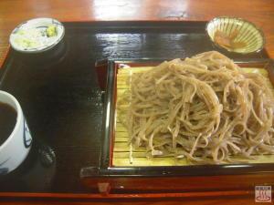 ざる蕎麦(大盛り)