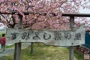 すみよし桜の里の看板