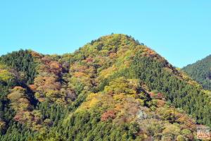 大滝温泉から御岳山方面