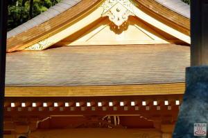 ピカピカの拝殿