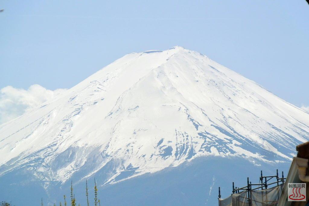 河口湖から見た富士山